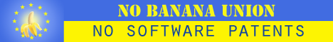 No Banana Union - No Software Patents